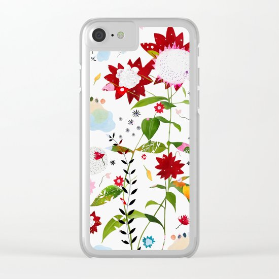 flisse Clear iPhone Case