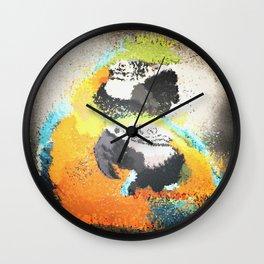 Parrot Pattern Wall Clock