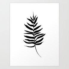 Palm Frond Art Print