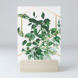 LUXURY x GOLD Mini Art Print