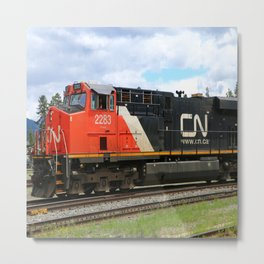 Canadian National Railway Metal Print