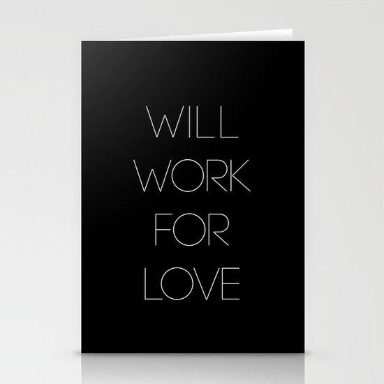 i will. Stationery Cards
