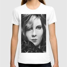 Kirsten Dunst by A.Harrison T-shirt