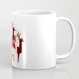 Deer Santa Coffee Mug