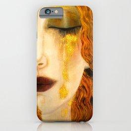 Freya's Golden Tears Viking Lore iPhone Case
