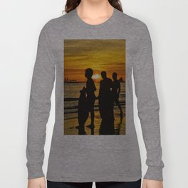 Surfer Dudes Long Sleeve T-shirt
