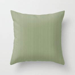 Color of moss Throw Pillow