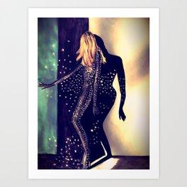 Dancing Into The Night Illustration By James Thomas Ryan Art Print
