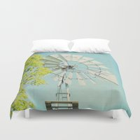 american beauty Duvet Covers featuring American Beauty Vol 20 by Farmhouse Chic