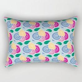 Floral Flowers Rectangular Pillow