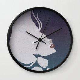 Floatinf Face Wall Clock