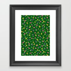 Petunias Framed Art Print