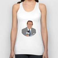 dana scully Tank Tops featuring Vin Scully by Eric J. Lugo