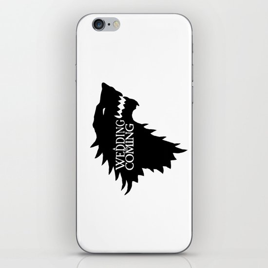 A Wedding Is Coming iPhone & iPod Skin