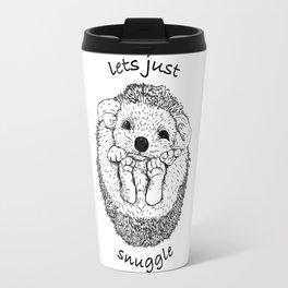Hedgehog snuggle Travel Mug