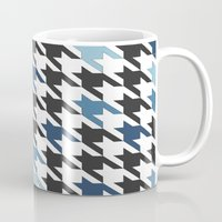 tooth Mugs featuring Blue Tooth by Project M