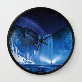 Magical Waterfall Wall Clock