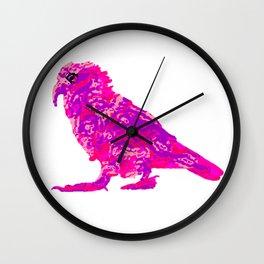 Kea Strut - pinks Wall Clock