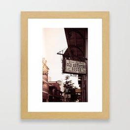 Old Absinthe House - New Orleans Framed Art Print