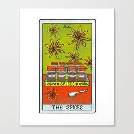 The Spices |Baker's Tarot Canvas Print
