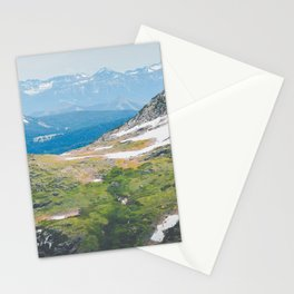 Alpine Mosses Stationery Cards