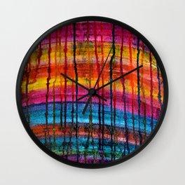 Natural Layers Wall Clock