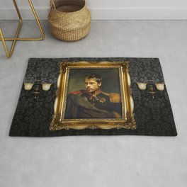 Brad Pitt - replaceface Rug