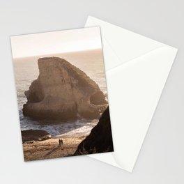 Shark Fin Cove Beach, Davenport California Sunset Photography, Love, Travel  Stationery Cards