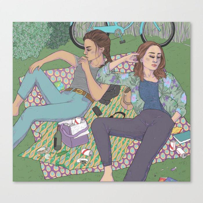park days Canvas Print