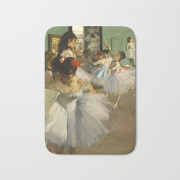 Degas - The Dance Class, 1874 Bath Mat