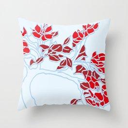 KeriBlossom Throw Pillow