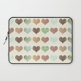 DG HEARTS - RUSTIC Laptop Sleeve