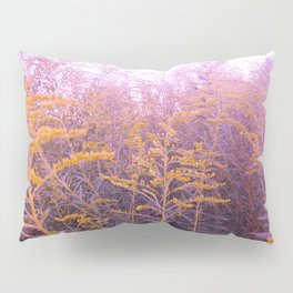 Pink Goldenrod Pillow Sham