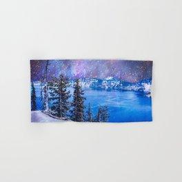 Otherworldly Sky Over Crater Lake Oregon Hand & Bath Towel