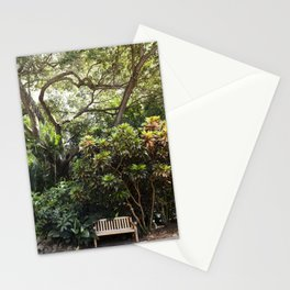 The Reading Bench & The Croton Tree Stationery Cards