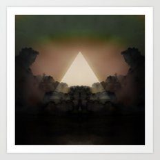 Abstract Environment 02: The Rorschach Test Art Print