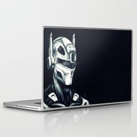 gundam Laptop & iPad Skins featuring Mech 01 by Louis Bullock