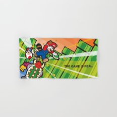 Inception Mario Hand & Bath Towel