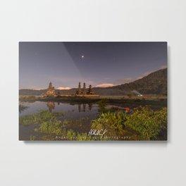 Tamblingan lake before sunrise, Bali - Indonesia Metal Print