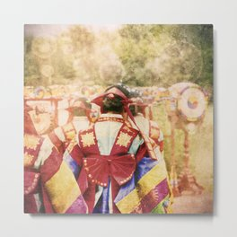 "culture Photography ""KOREAN DANCER"" Metal Print"