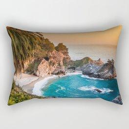 Hidden Cove Sunset Rectangular Pillow