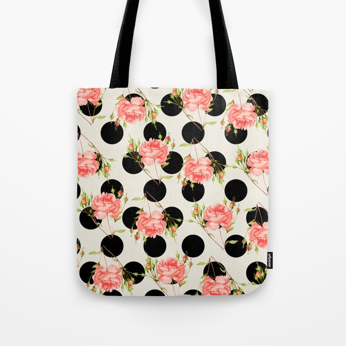 MIXED FLORAL Tote Bag