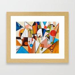 Abstract Beginning Framed Art Print