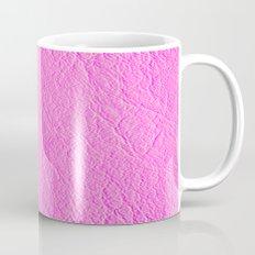 Leather Texture (Pink) Coffee Mug