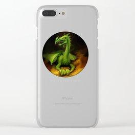 Fafnir Clear iPhone Case