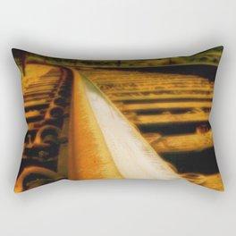 Rusted rail Rectangular Pillow