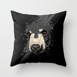 The Hidden Bear Throw Pillow