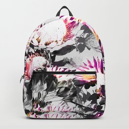 Floral pattern protea Backpack