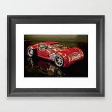 Minority Report Lexus Concept Car Framed Art Print