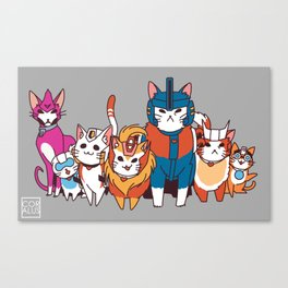 More than meets the cat! Canvas Print